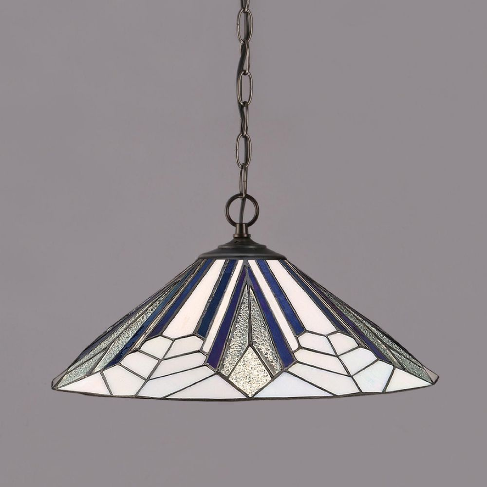 Astoria Large Pendant (Art Deco, Pendant) T026P48 (Tiffany style)